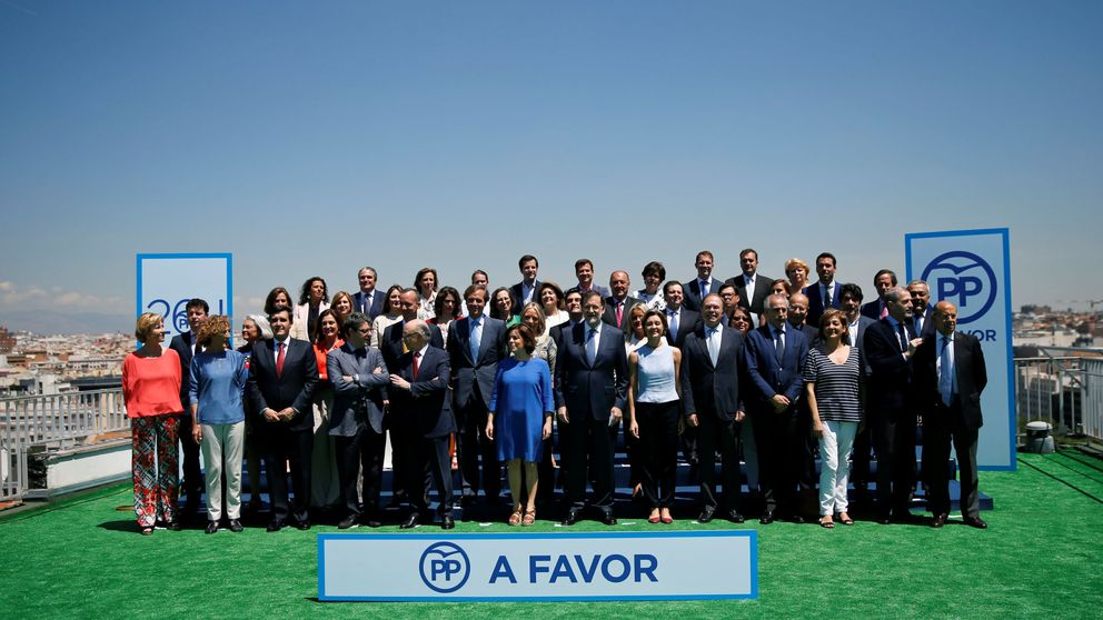 Rajoy presenta su primera lista al Congreso por Madrid sin Aguirre