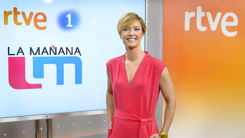 María Casado, presentadora de 'La mañana de La 1'.