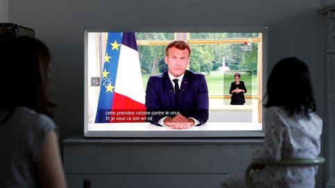 Macron acelera la desescalada en Francia: abren los bares y vuelta a los colegios