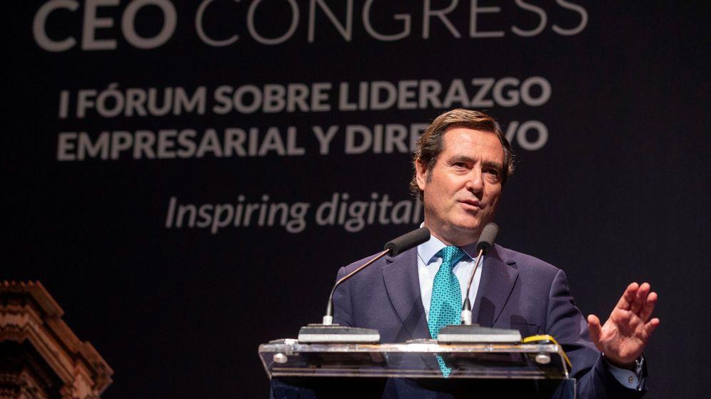 Foto: El presidente de la Confederación Española de Organizaciones Empresariales (CEOE). (EFE)