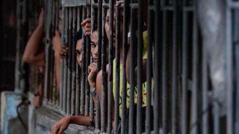 Búsqueda de contrabando en la cárcel de Manila