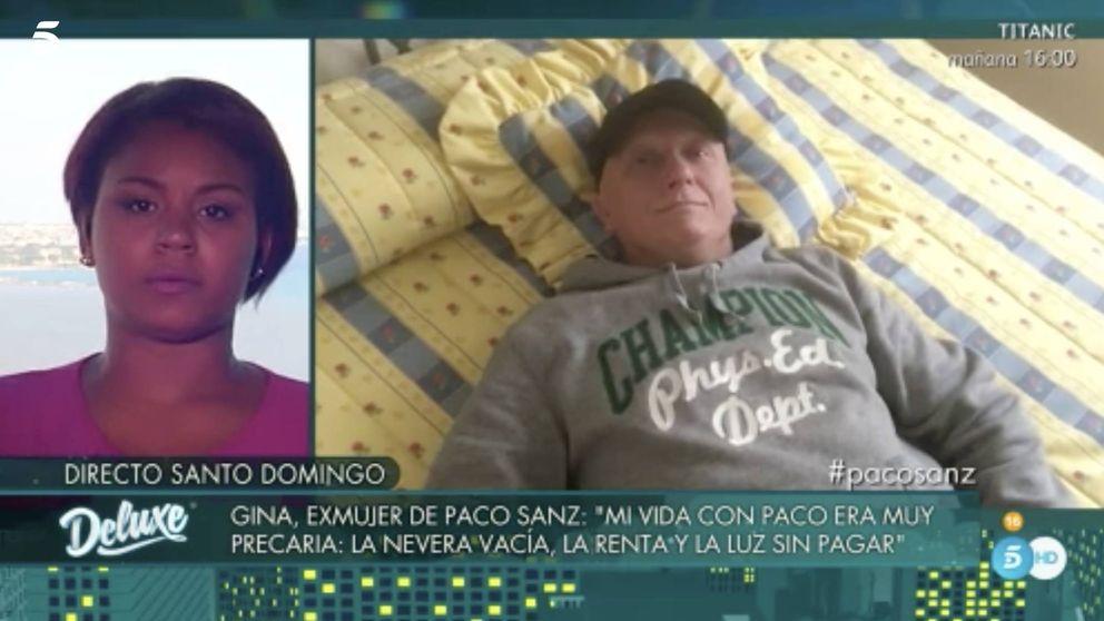 Gina, exmujer de Paco Sanz: Es capaz de matar a una persona