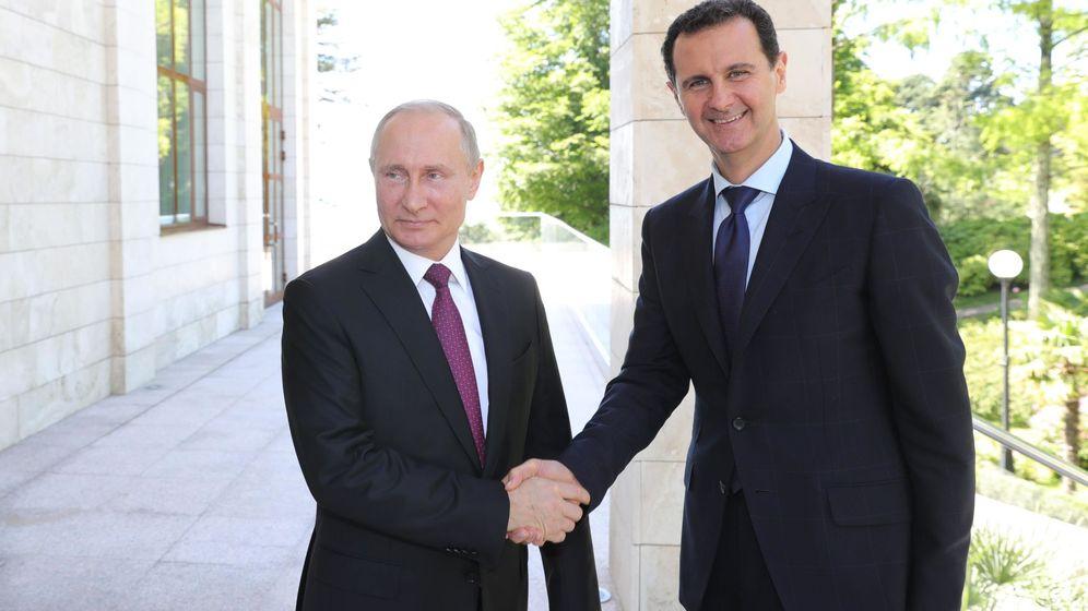 Foto: Vladimir Putin y Bashar al-Assad. (Reuters)