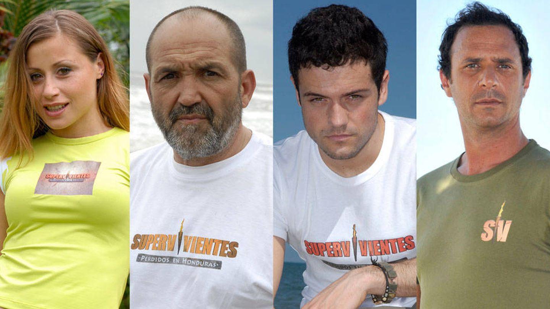 Verónica Romero, Juanito Oiarzabal, Leo Segarra y Matías Fernández. (Mediaset España)