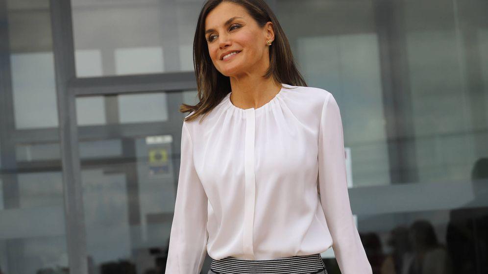 Foto: La Reina este jueves en Mallorca. (Getty Images)