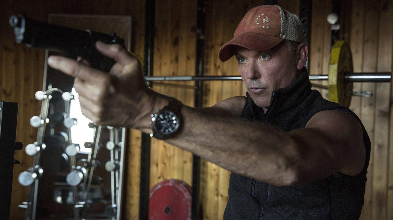 Michael Keaton es Stan Hurley, un ex Navy Seal duro de roer. (EOne)