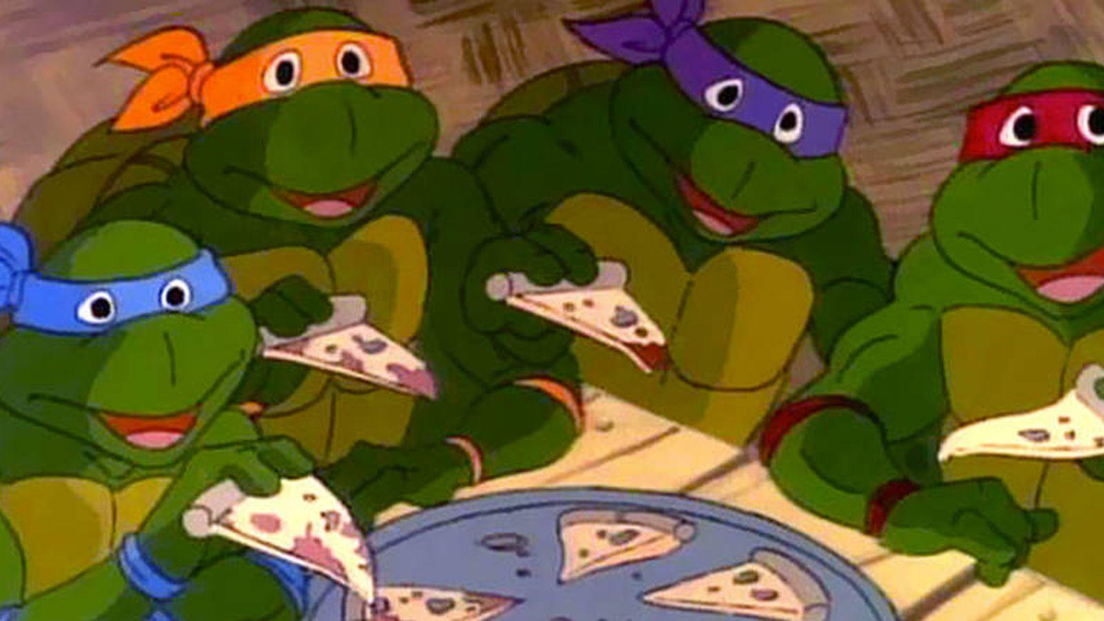 Animales Que Las Tortugas Ninja Coman Pizza Vegana El Boom