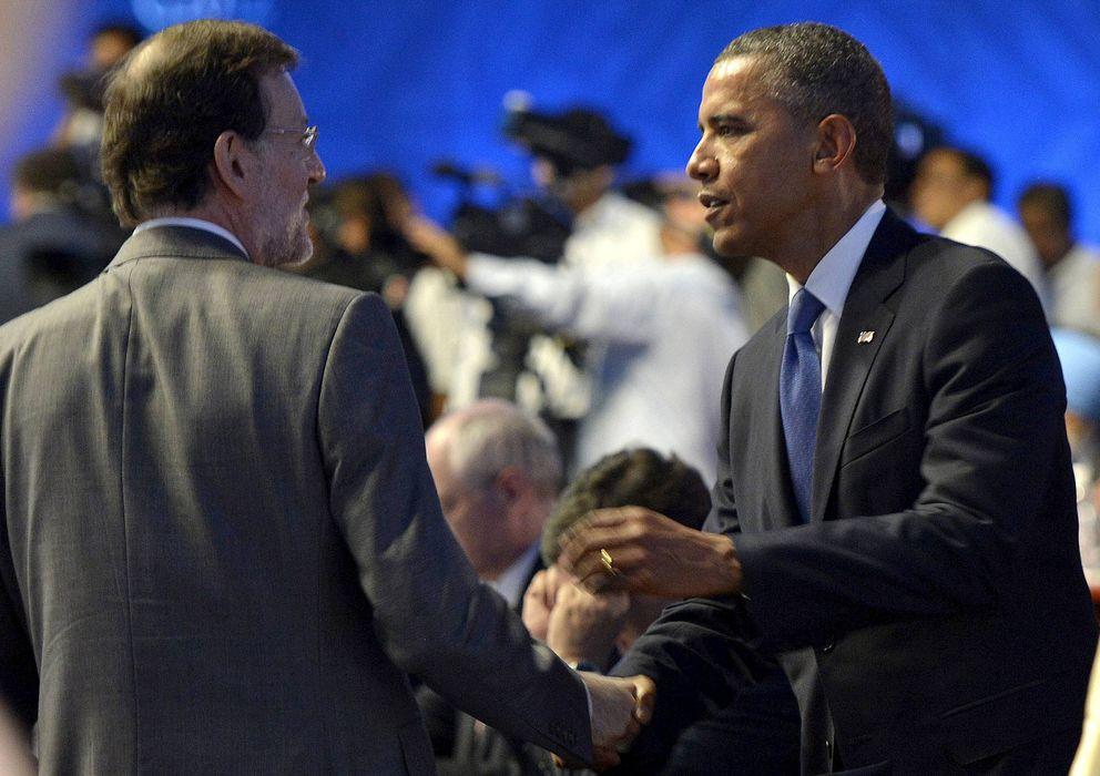 Foto: Fotografía de archivo de Mariano Rajoy y Barack Obama. (EFE)