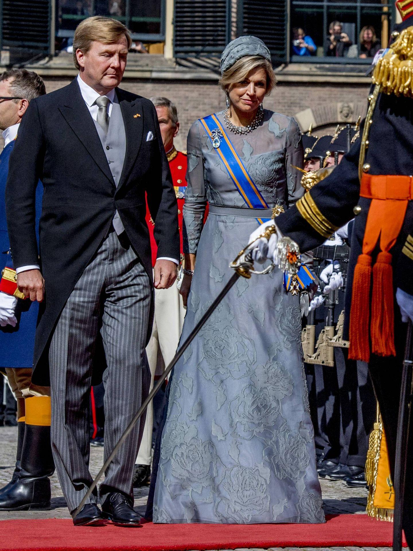 Los reyes de Holanda, en el Prinsjesdag 2017. (CP)