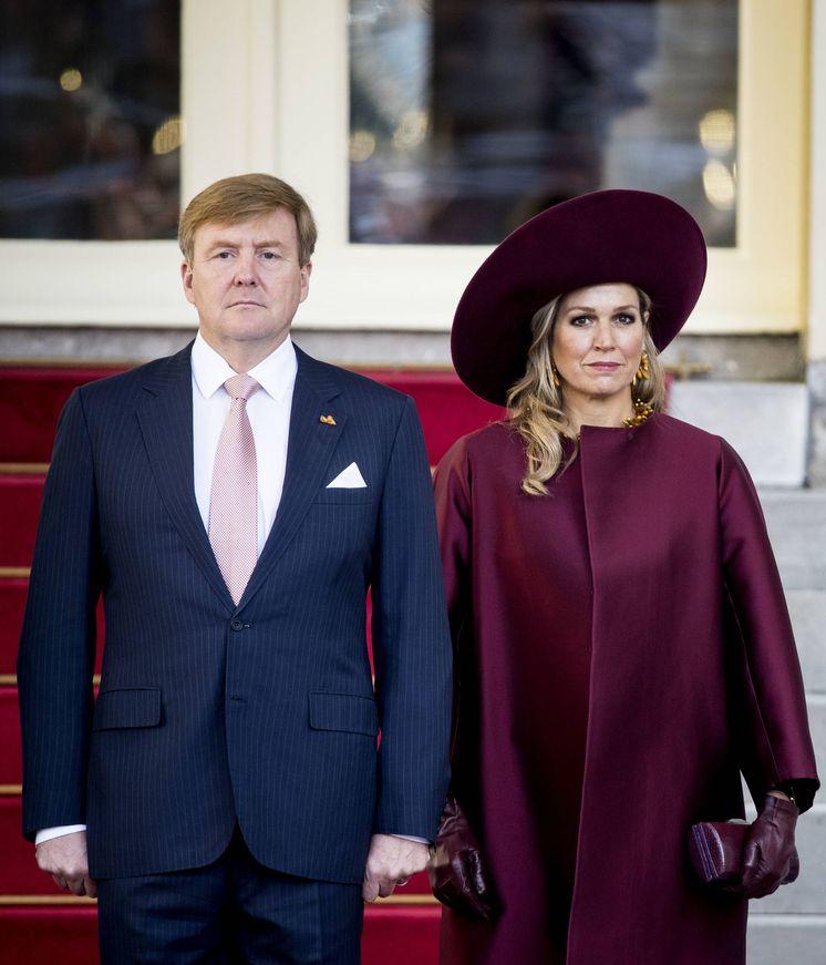 Foto: Guillermo Alejandro y Máxima, los reyes holandeses en una foto de archivo. (Getty)