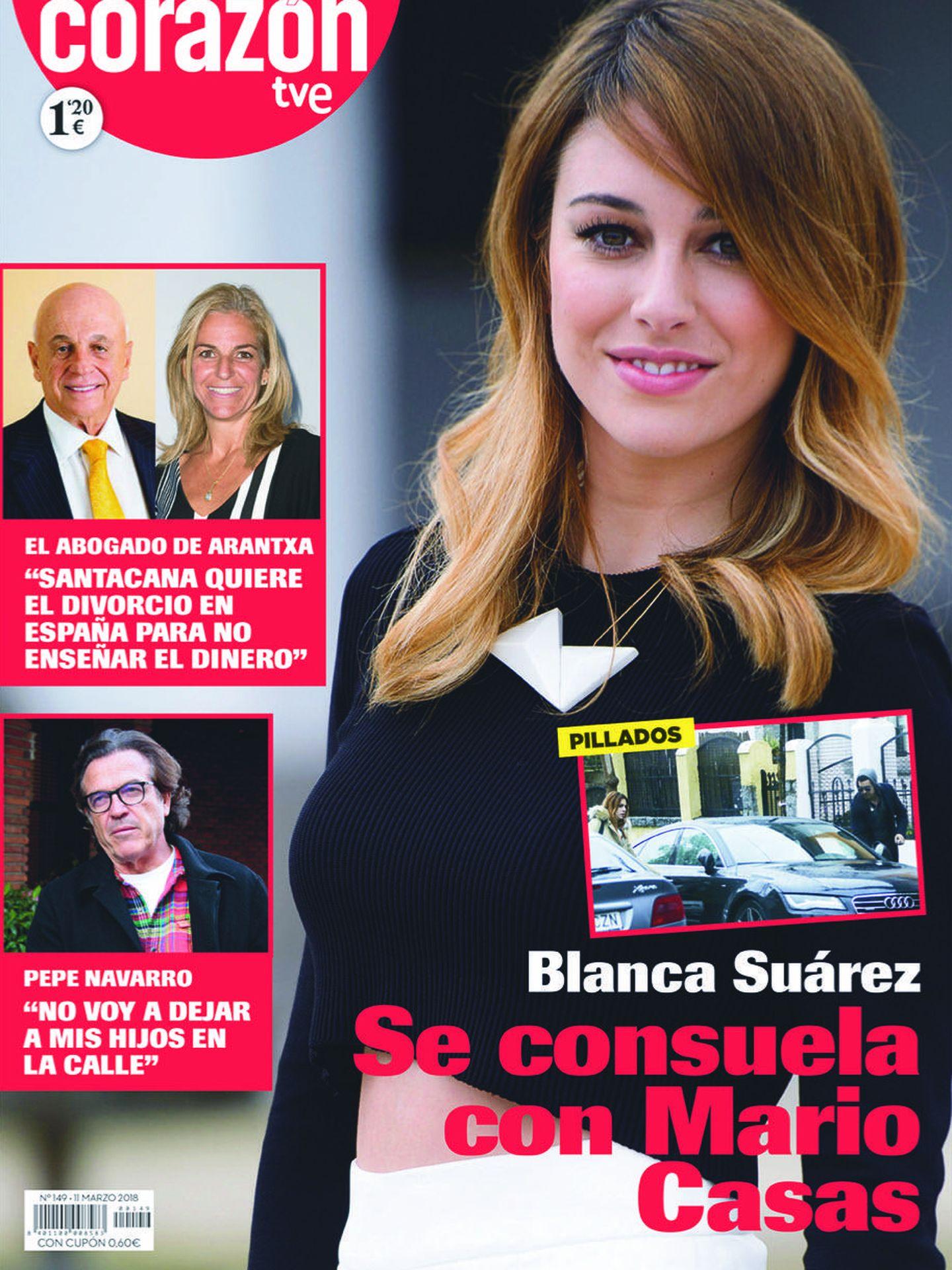 Portada de la revista 'Corazón, TVE'.