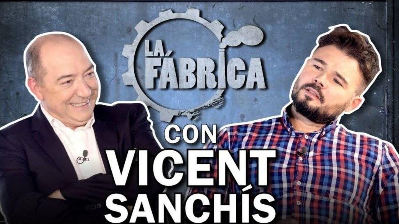 Vicent Sanchis y Gabriel Rufián. ('La fábrica').