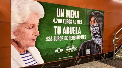 Fiscalía investiga si Vox comete un delito de odio por el cartel electoral contra los menas