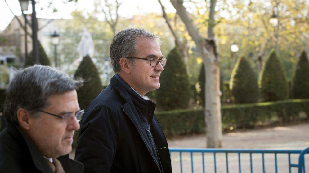 Foto: El exdirectivo de BBVA Eduardo Arbizu, en la Audiencia. (EFE)