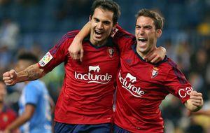 El Málaga desaprovecha una renta de tres goles frente a Osasuna