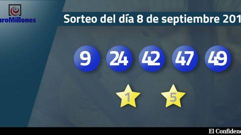 Resultados del sorteo del Euromillones del 8 de septiembre de 2017