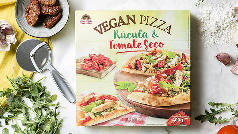 Mercadona lanza una nueva pizza vegana: cero ingredientes de origen animal