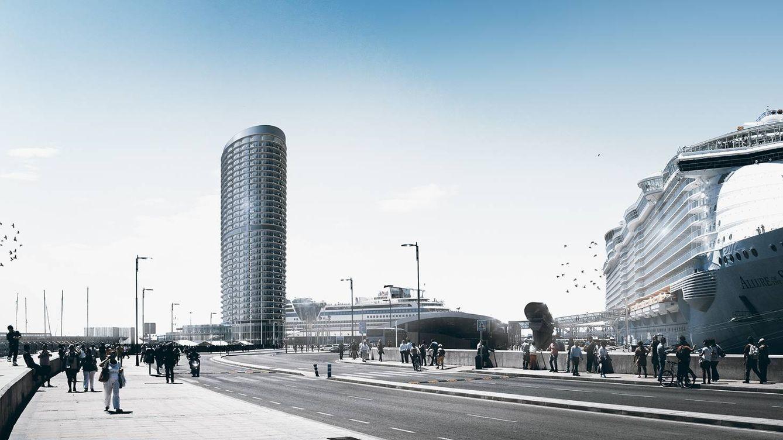 Qatar tendrá hotel rascacielos en Málaga (y puede que con casino)