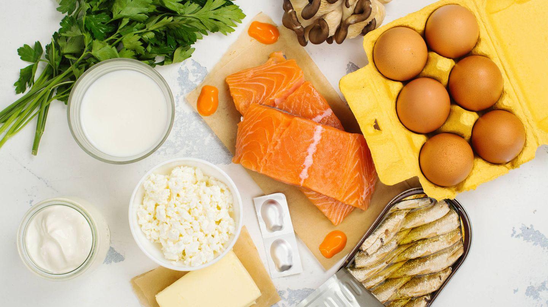 Fuentes de vitamina D. (iStock)