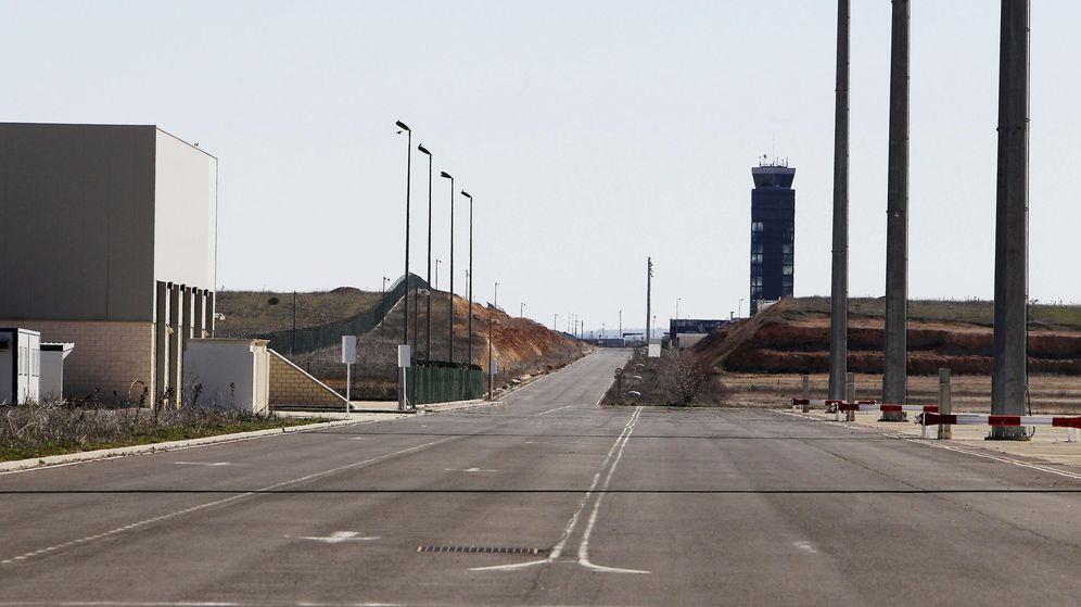 Foto: Vista del aeropuerto de Ciudad Real (EFE)
