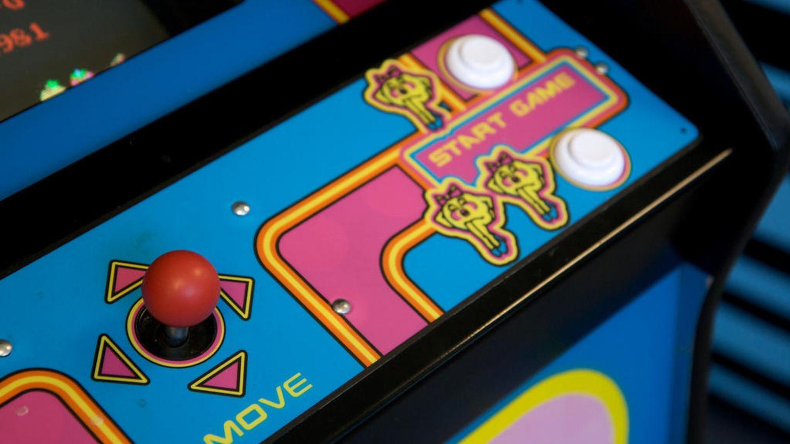 Foto: Detalle de una recreativa de 'Ms. Pac-Man'. (Marcin Wichary)