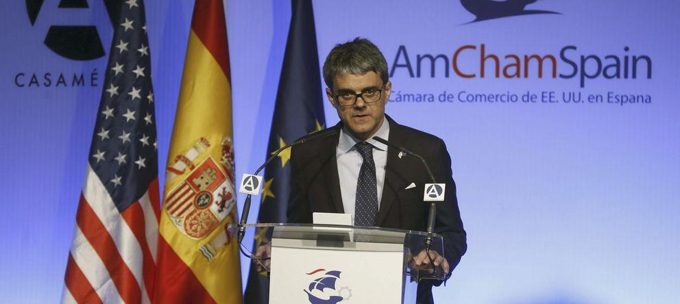 Foto: El presidente de la AmChamSpain, Jaime Malet (EFE)