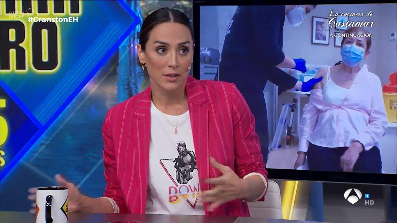 Lluvia de críticas a Tamara Falcó por su opinión sobre las vacunas en 'El hormiguero'