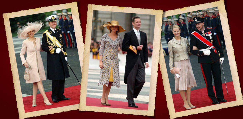 Así han cambiado las vidas de los invitados a la boda de Felipe y Letizia 12 años después
