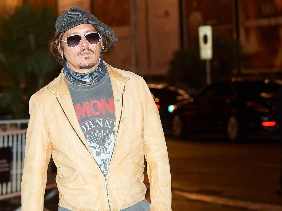 Foto: Johhny Depp a su llegada al hotel María Cristina de San Sebastián. (Limited Pictures)