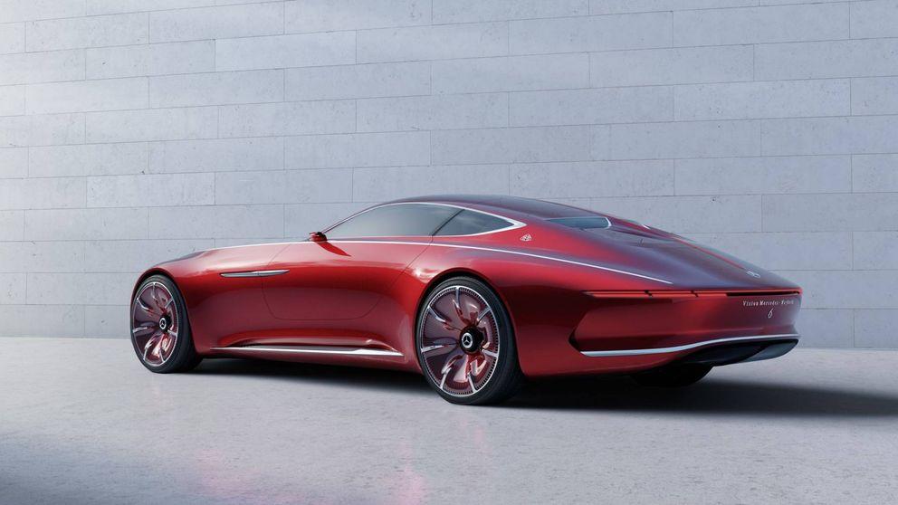 Mercedes Maybach 6, un espectacular coupé eléctrico de 5,70 metros