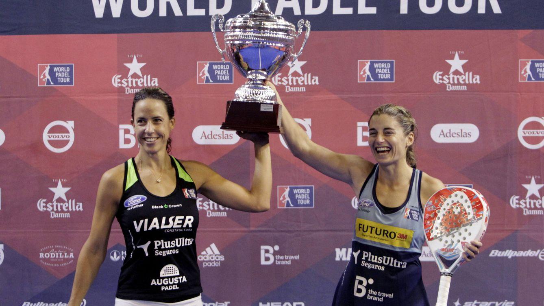 Las imparables Marrero y Salazar se proclaman campeonas en A Coruña