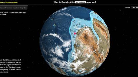 ¿Dónde estaba tu ciudad en la era de los dinosaurios? Este mapa te lo muestra