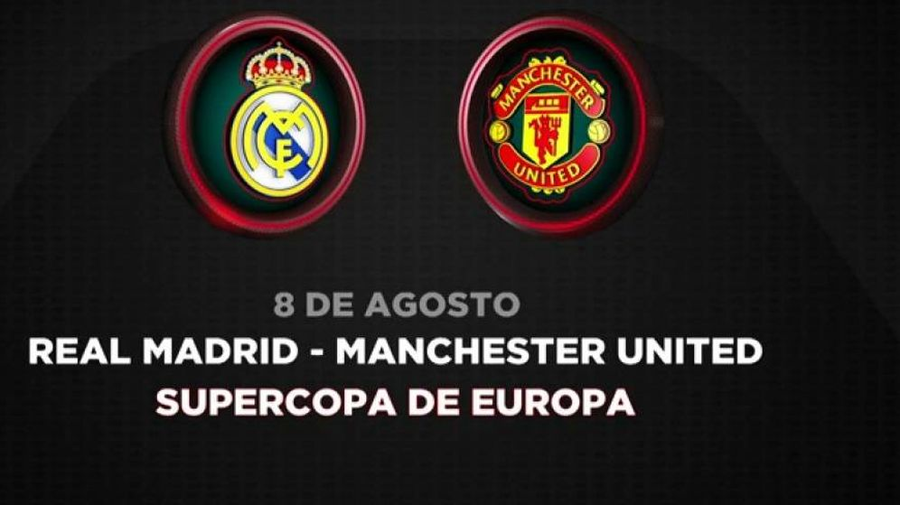 Foto: Antena 3 retransmite la Supercopa de Europa.