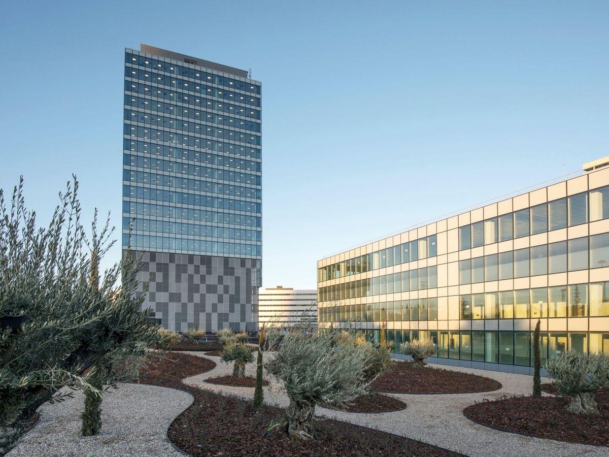 Foto: Torre de oficinas de Merlin Properties. (EFE)