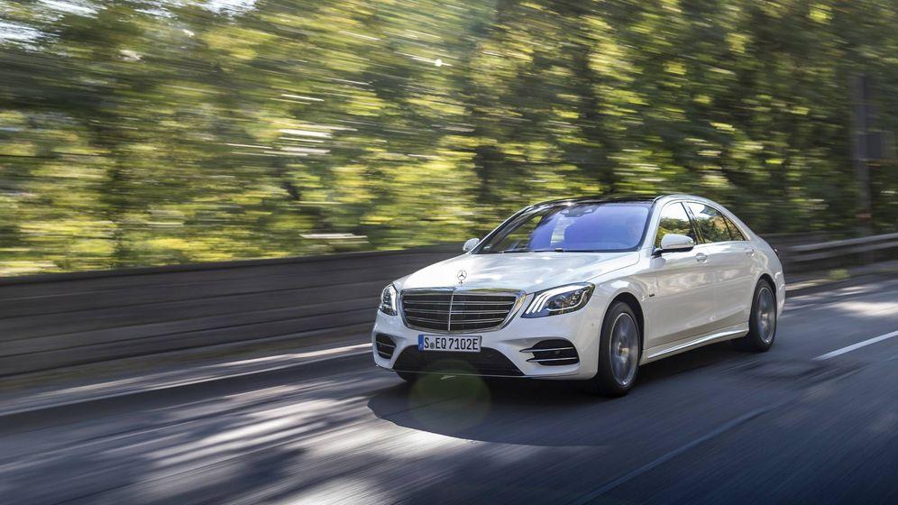 Foto: Nuevo Mercedes S560 e, la berlina de lujo y con etiqueta cero emisiones.