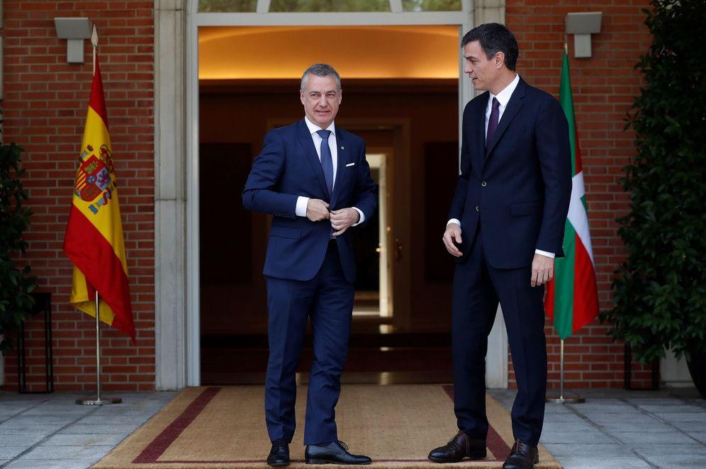 Foto: Sánchez y Urkullu, durante su reunión del pasado 25 de junio. (EFE)