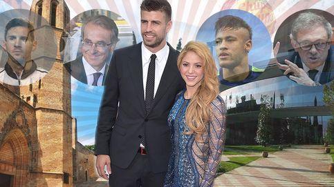 Shakira y Piqué suben en la escala social: así son sus nuevos ilustres vecinos
