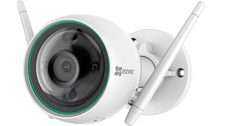 Cámara exterior wifi EZVIZ C3N de vigilancia y seguridad