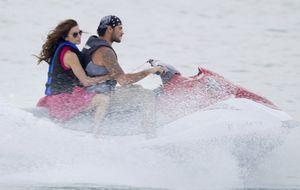 Eva Longoria y Eduardo Cruz surcan los mares