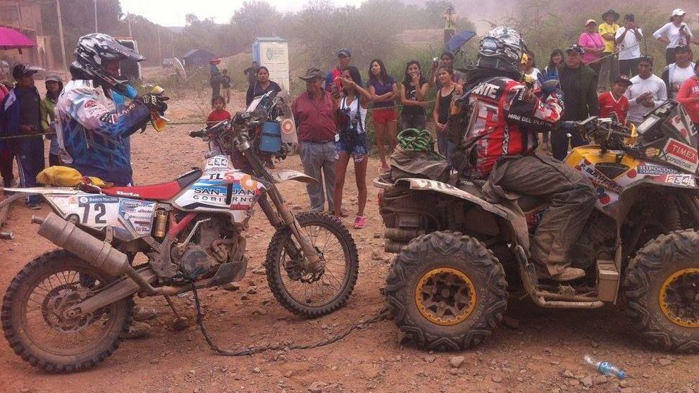¡Se me acabó el Dakar, viejo!, la milagrosa aparición para Alberto Ontiveros