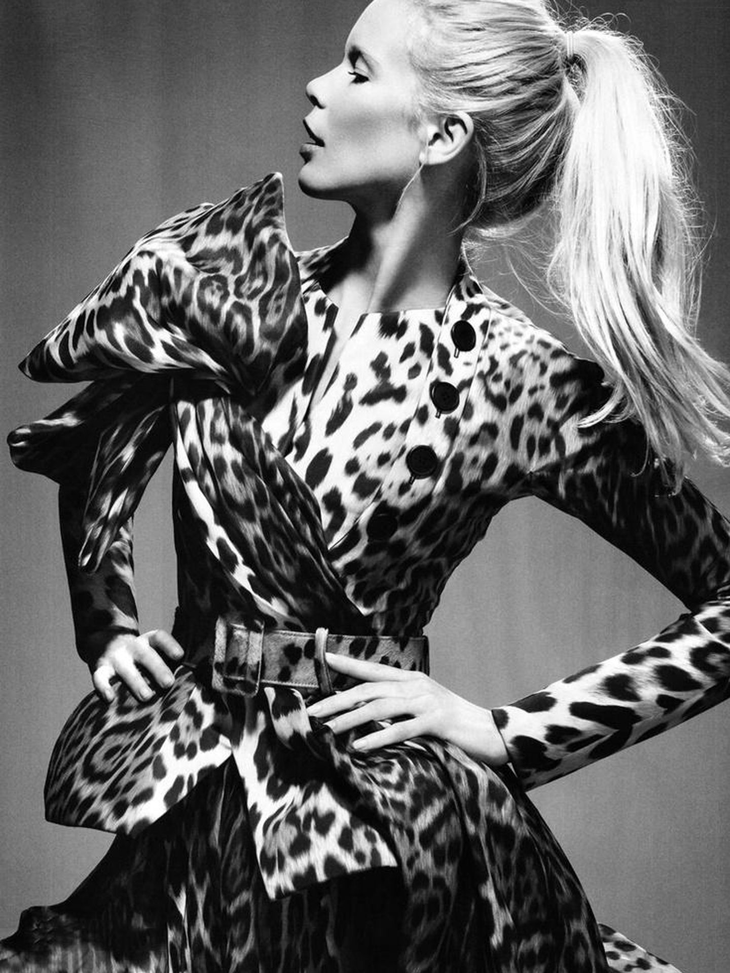 Claudia Schiffer para Dior