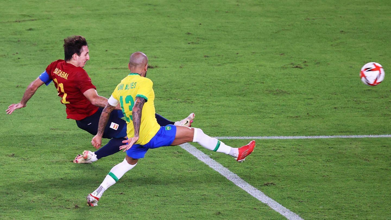 Oyarzábal anota el 1-1. (Reuters)