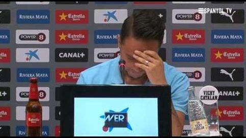 La dura despedida de Sergio García del Espanyol