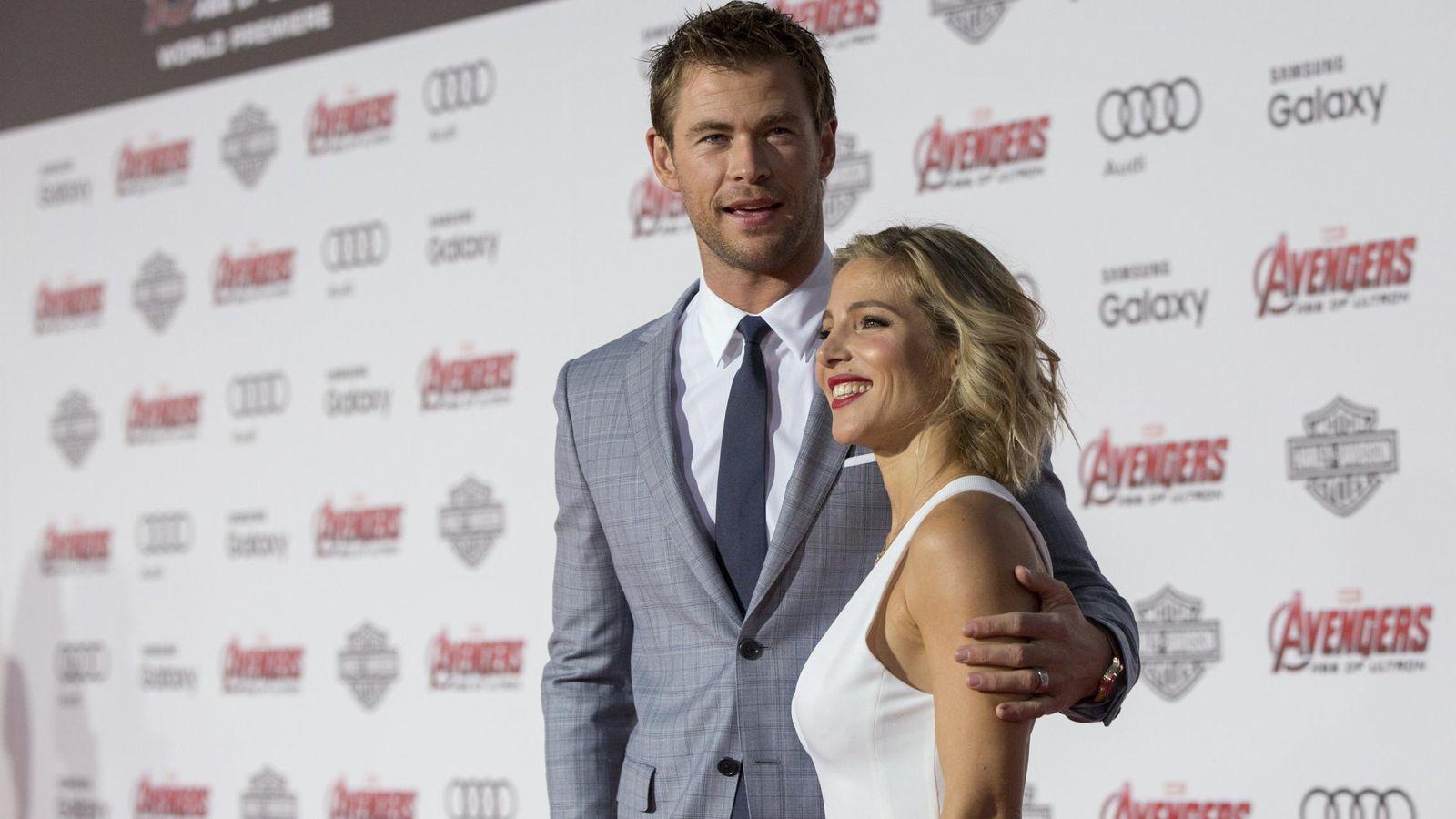 Foto: Elsa Pataky y Chris Hemsworth en una imagen de archivo. (Reuters)