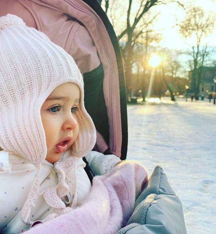 Foto:  La princesa Adrienne. (Instagram)