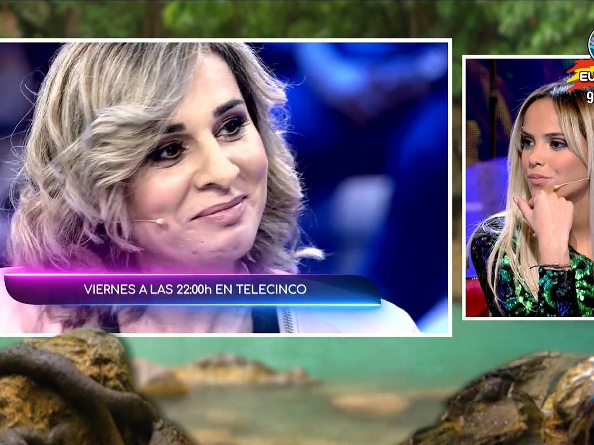 Foto: Gloria Camila, en 'Supervivientes 2020'. (Mediaset España)
