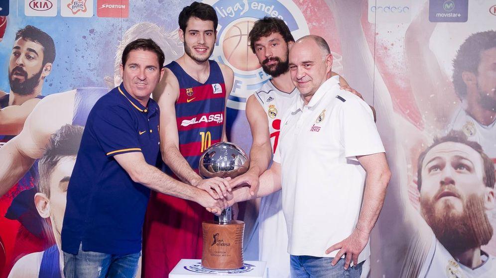 Foto: Imagen de la presentación de la final de la Liga Endesa (Foto: ACB Photo)