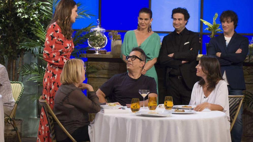 Foto: Buenafuente visita 'MasterChef Celebrity II'.