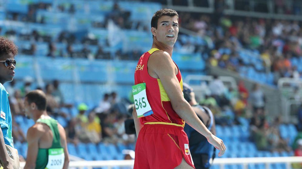 Foto: Adel Mechaal, en los Juegos de Río 2016 (Srdjan Suki/EFE).