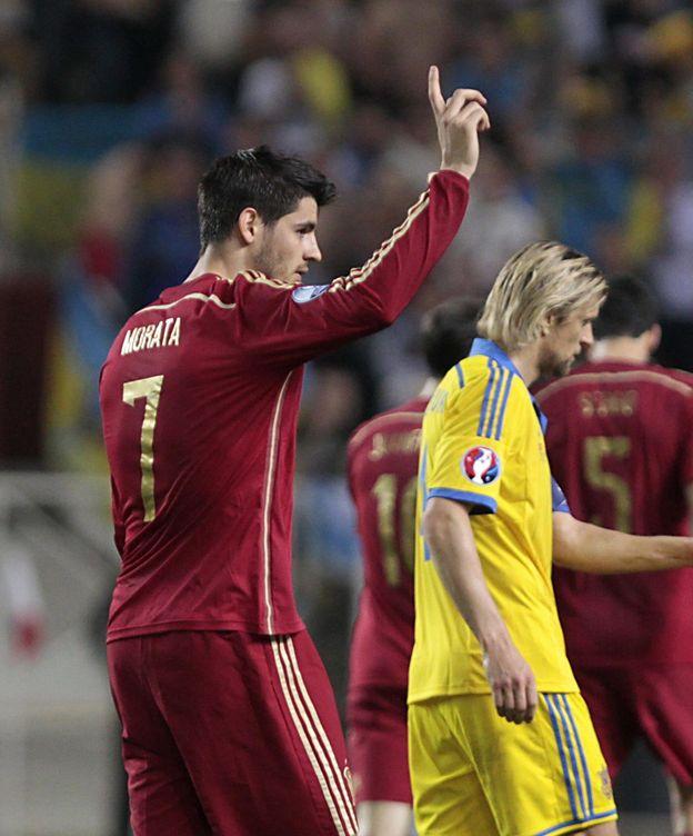 Foto: Morata fue el gran damnificado por la BBC (EFE).